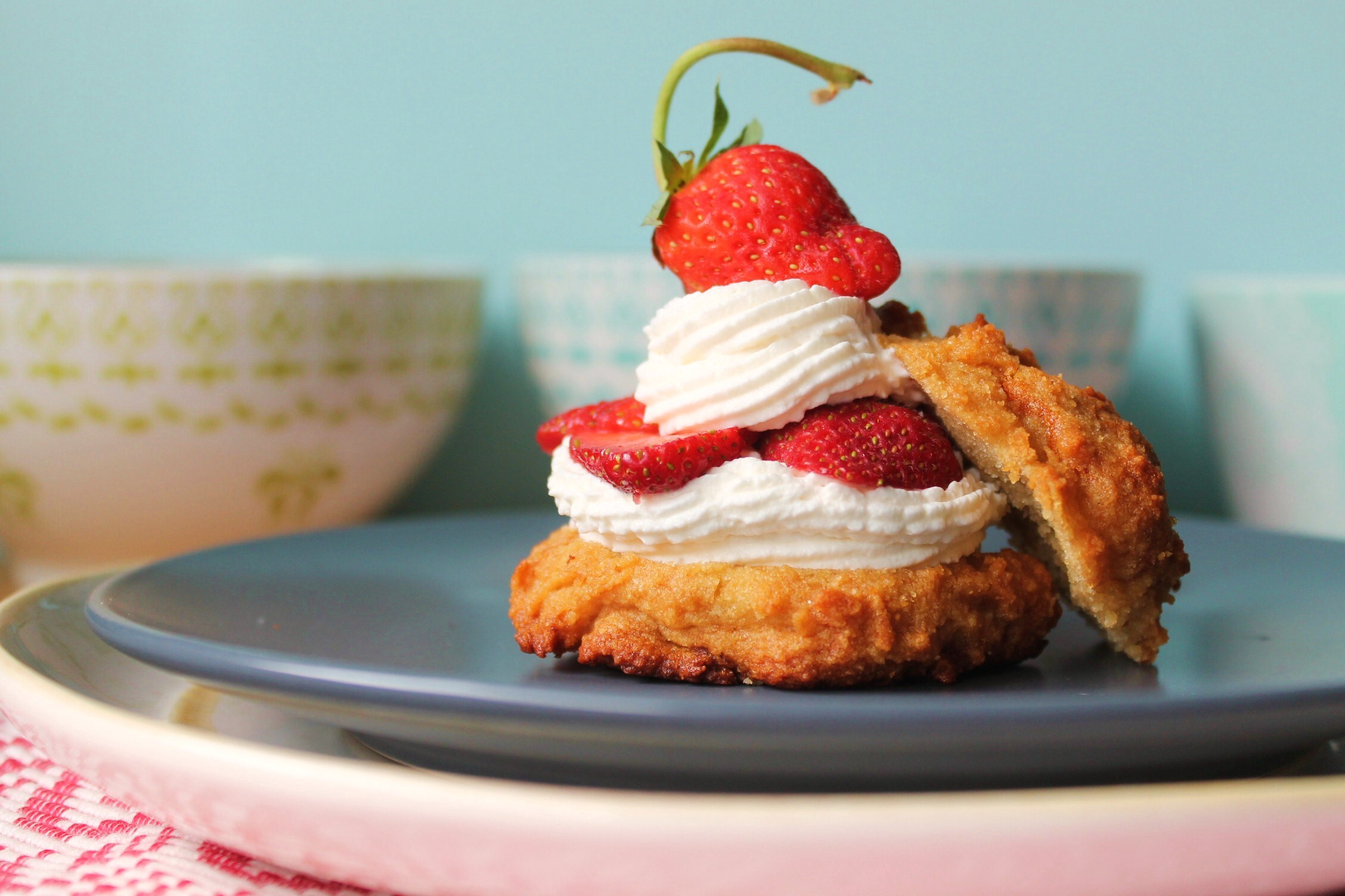 Cant wait to try this I grew up on strawberry shortcake with homemade b.m. biscuits and back then everyone my mom served it to loved it but never heard of shortcake with biscuits .