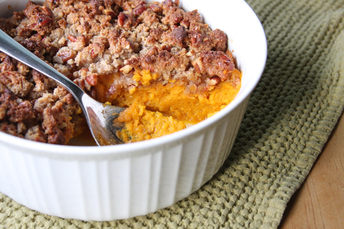 recipe: sweet butternut squash casserole [5]