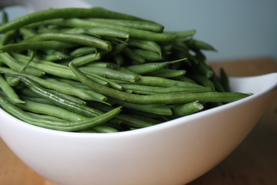 Green Beans With Creamy Mushrooms And Shallots Recipe ...
