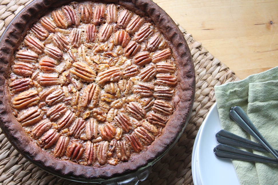 Maple Pecan Pie ~ gluten free